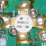 Transistors di potenza SD2931-11 (per Icom IC &#8211; 7800)